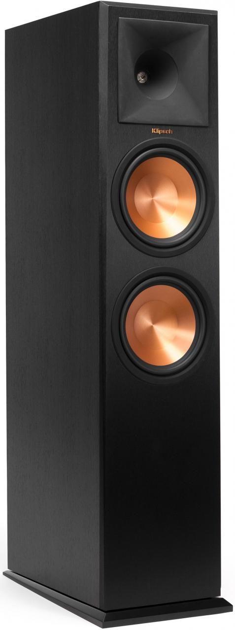 """Klipsch® Reference Premiere RP-280F Ebony 8"""" Floor Standing Speaker-1060679"""