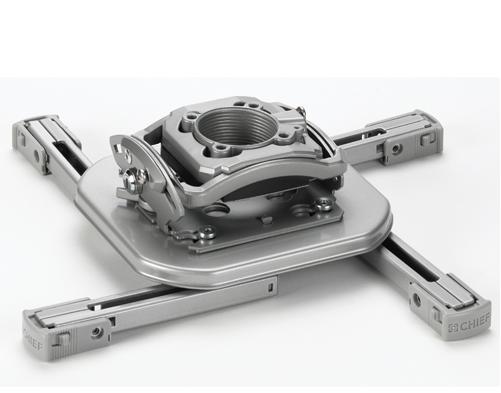 Chief® Silver Manufacturing Mini Elite Universal Projector Mount-RSMCUS