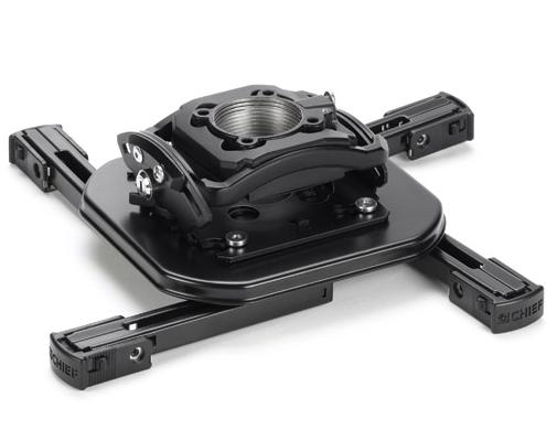 Chief® Black Manufacturing Mini Elite Universal Projector Mount-RSMDU