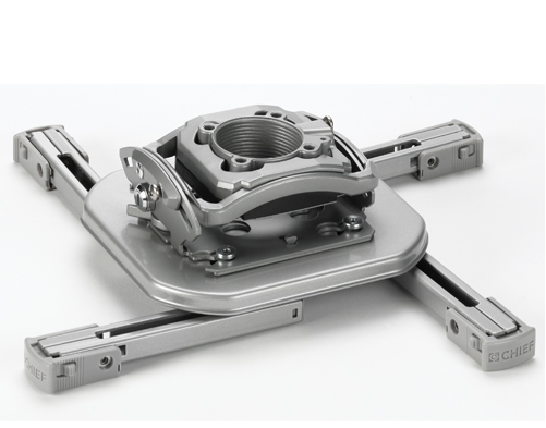 Chief® Silver Manufacturing Mini Elite Universal Projector Mount-RSMDUS