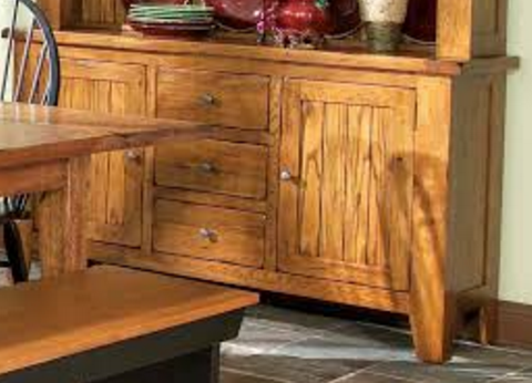 Intercon Rustic Traditions Collection Dining Room China Buffet-RT-CA-6035-RUS-BSE