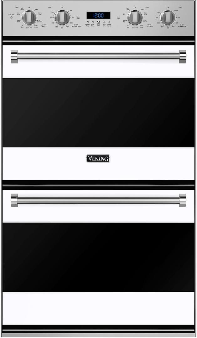 """Viking® Professional Series 30"""" Electric Double Oven Built In-White-RVDOE330WH"""