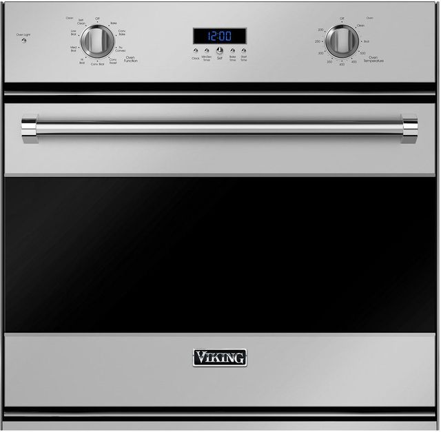 """Viking® 3 Series 29.75"""" Stainless Steel Electric Single Built in Oven-RVSOE330SS"""