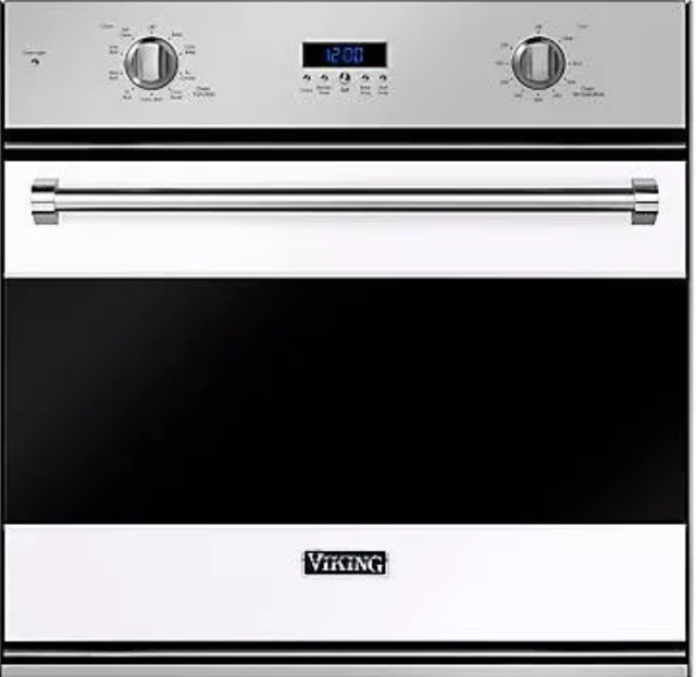 """Viking® 3 Series 30"""" Electric Built In Single Oven-White-RVSOE330WH"""