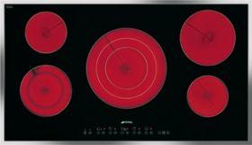 """Smeg 30""""Ceramic Cooktop-Black-S2772TCU"""