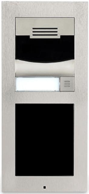 Savant® Flush Mount Silver Door Station-DOR-FM0S-00-DOR-FM0S-00
