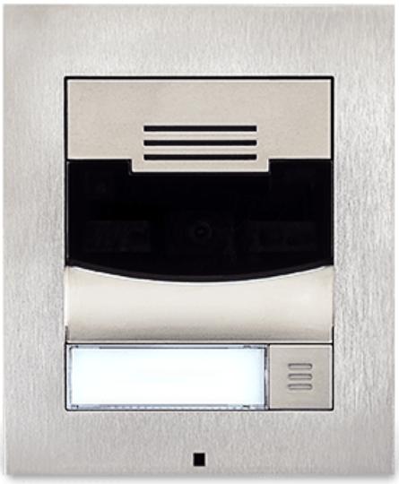 Savant® Flush Mount Single Height Silver Door Station-DOR-FMS-00-DOR-FMS-00