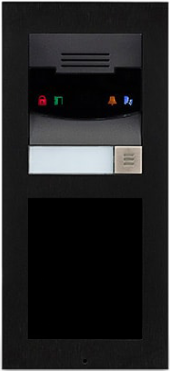 Savant® Surface Mount Black Door Station-DOR-SM0B-00-DOR-SM0B-00