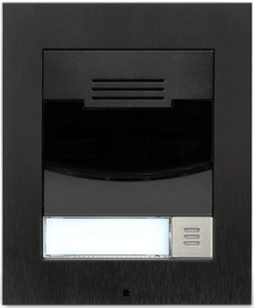 Savant® Surface Mount Single Height Black Door Station-DOR-SMB-00-DOR-SMB-00