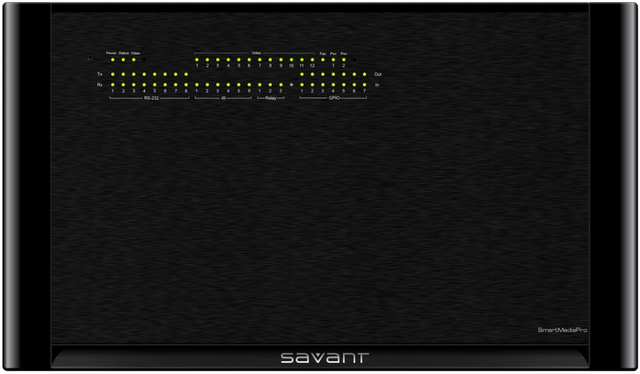 Savant® Matrix Switcher and Controller-SSP-1200-11