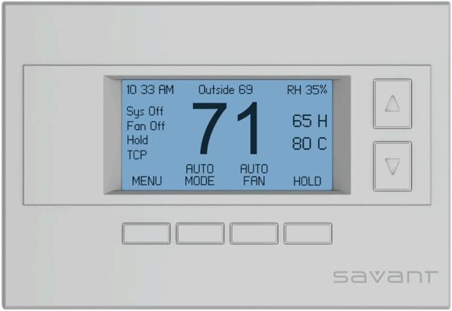 Savant® Wireless Thermostat-SST-W100-00