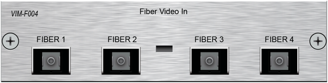 Savant® 4-Port HDMI Over Fiber Input Module-VIM-F004-00