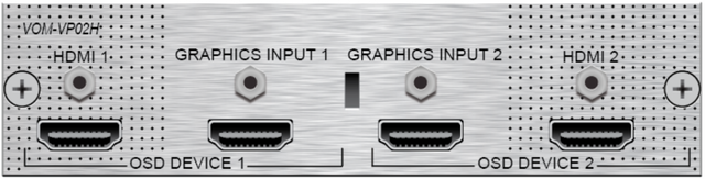 Savant® Video Processing Output Module-VOM-VP02H-06