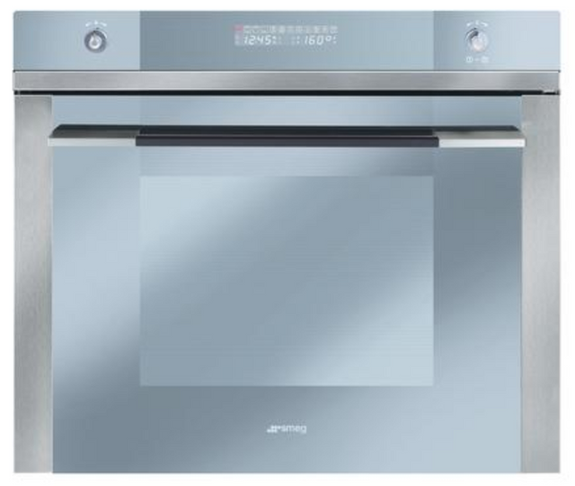 "Smeg Linea 27"" Built-In Oven-Stainless Steel-SC712U"