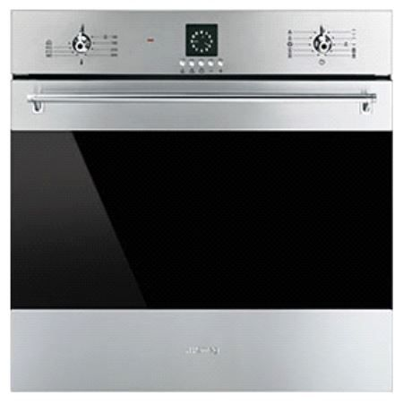 """Smeg 24"""" Classic Electric Multifunction Oven-Stainless Steel-SF399XU"""