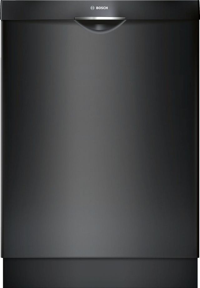 "Bosch 300 Series 24"" Built In Dishwasher-Black-SHS863WD6N"