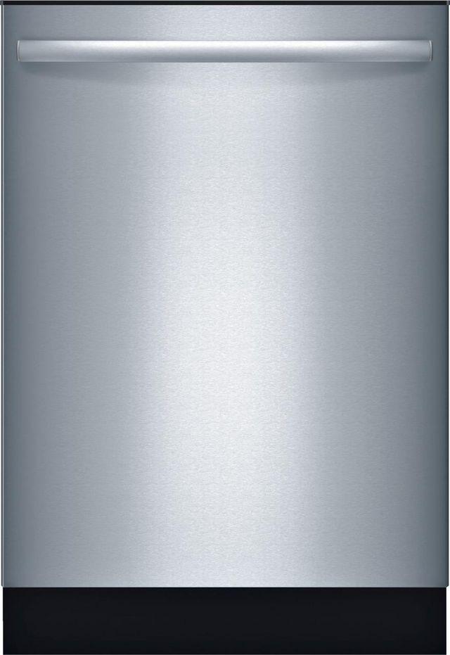 "Bosch Ascenta® Series 24"" Built In Dishwasher-Stainless Steel-SHX3AR75UC"