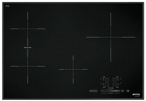 "Smeg 31"" Induction Cooktop-Black-SIMU530B"