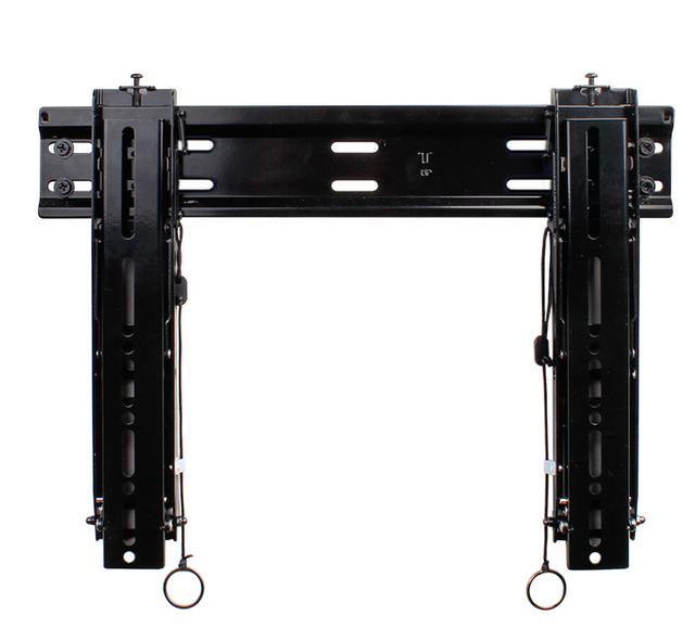 SnapAV Strong™ Medium Razor Tilt Mount-Black-SM-RAZOR-T-M