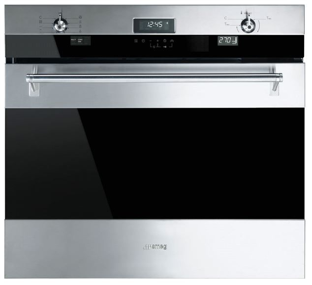 """Smeg 30"""" Classic Electric Multifunction Oven- Stainless Steel-SOU330X1"""