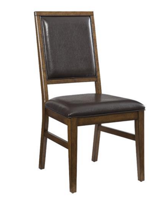 Intercon Santa Clara Collection Dining Room Upholstered Back Side Chair-ST-CH-280C-BDY-RTA