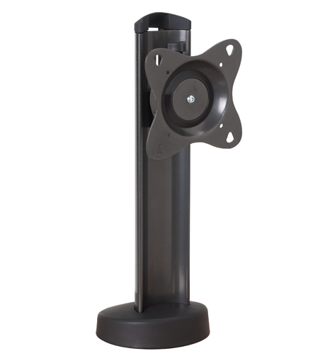 Chief® Black Manufacturing Small Bolt-Down Table Stand-STS1