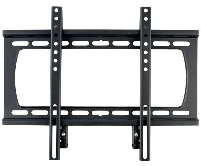 SunBriteTV® Black Outdoor Weatherproof Fixed Mount-SB-WM-F-M-BL