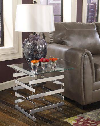 Signature Design by Ashley® Frandelli Square End Table-T299-2