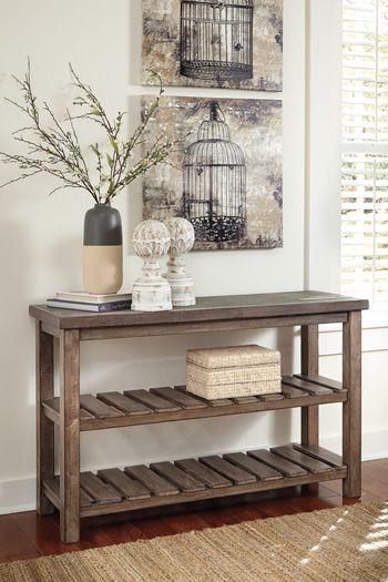 Signature Design by Ashley® Vennilux Sofa Table-T500-104