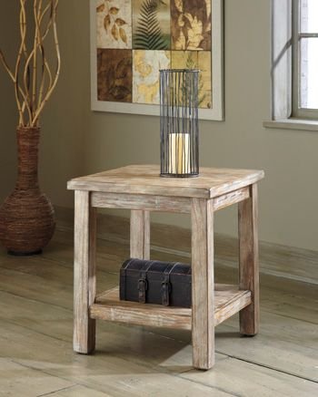 Signature Design by Ashley® Vennilux Chair Side End Table-T500-302
