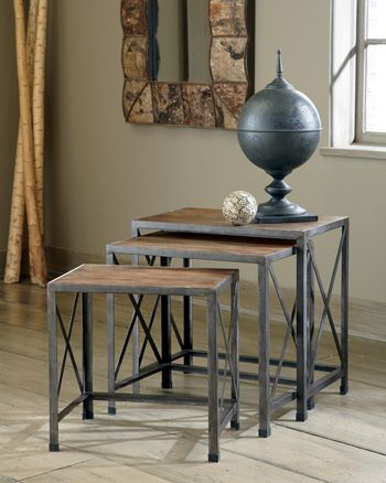 Signature Design by Ashley® Nesting Nesting End Tables (3/CN)-T500-716