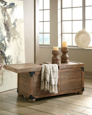 Signature Design by Ashley® Vennilux Storage Cocktail Table-T500-720