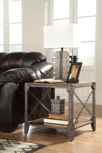 Signature Design by Ashley® Shairmore Square End Table-T526-2