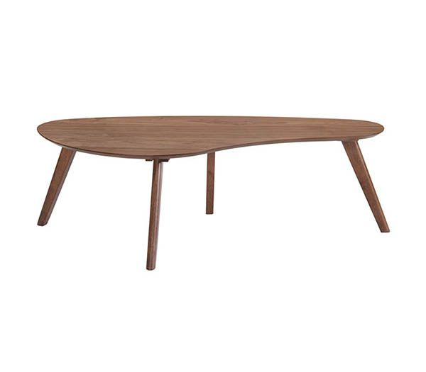 Emerald Home® Simplicity Walnut Cocktail Table-T550-0