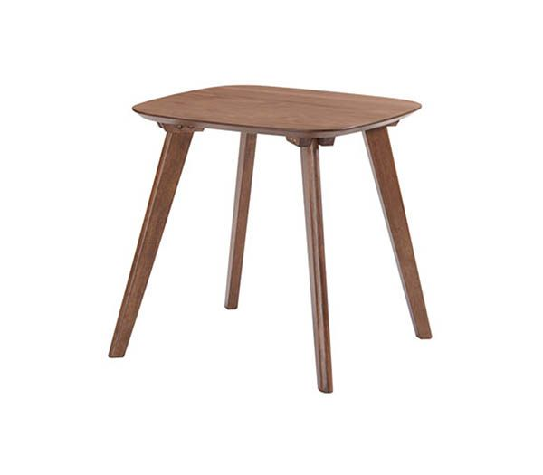 Emerald Home® Simplicity Walnut End Table-T550-1