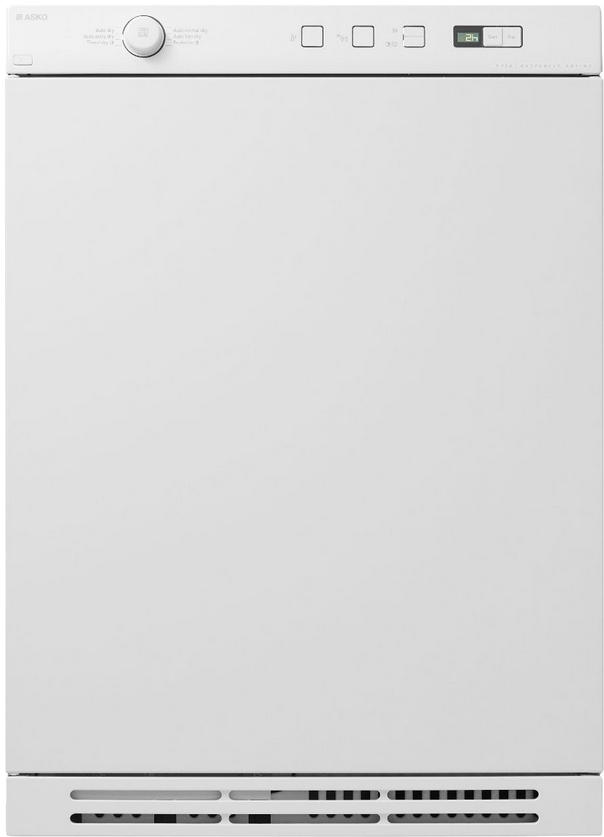 ASKO Electric Dryers-White-T754CW