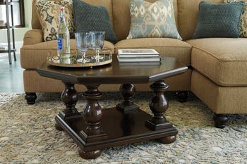 Signature Design by Ashley® Octagon Octagon Cocktail Table-T861-8