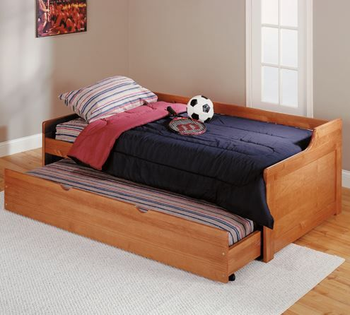 Woodcrest Pine Ridge Collection Youth Trundle Bed-Twin-TB200