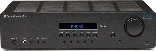 Cambridge Audio Topaz Series Digital Stereo Receiver-Black-Topaz SR20