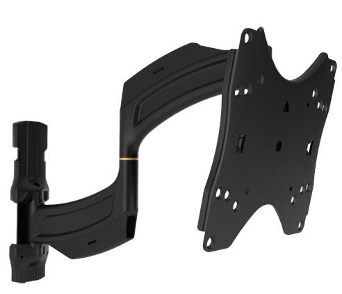 Chief® Professional AV Solutions Black Medium THINSTALL™ Dual Swing Arm Wall Mount-TS218SU