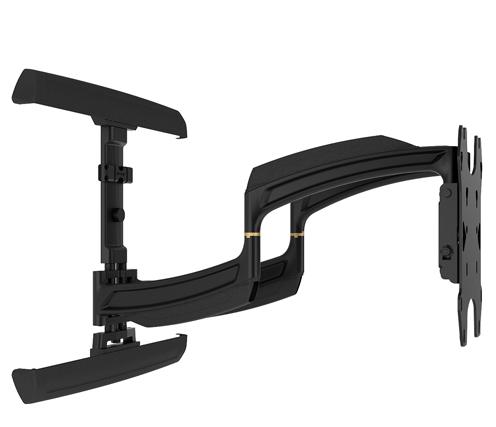 Chief® Professional AV Solutions Black Large THINSTALL™ Dual Swing Arm Wall Mount-TS525TU