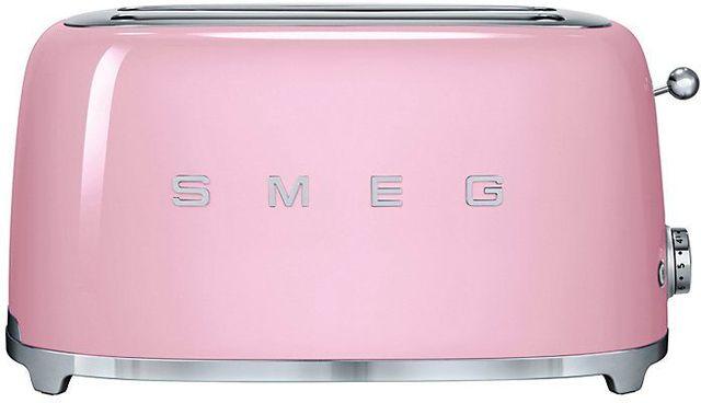 Smeg 50's Retro Style 4 Slice Toaster-Pink-TSF02PKUS