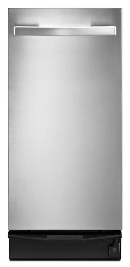 """Whirlpool® 15"""" Undercounter Trash Compactor-Stainless Steel-TU950QPXS"""