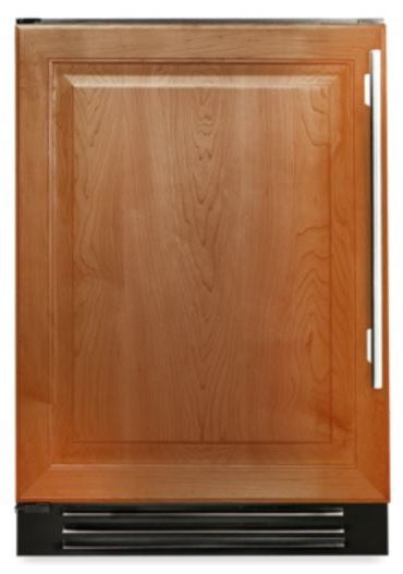 True® 4.2 Cu. Ft. Undercounter Freezer-Overlay Panel-TUF-24-L-OP-B