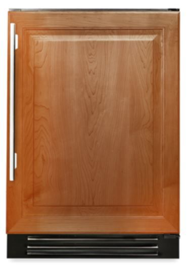 True® 4.2 Cu. Ft. Undercounter Freezer-Overlay Panel-TUF-24-R-OP-B