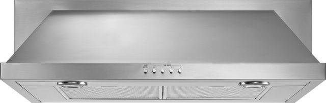 """KitchenAid® 29.88"""" Stainless Steel Convertible Under Cabinet Hood-UXT5530AAS"""