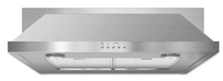 "JennAir®30"" Convertible Under-Cabinet Hood-Stainless Steel-UXT5530AAS"