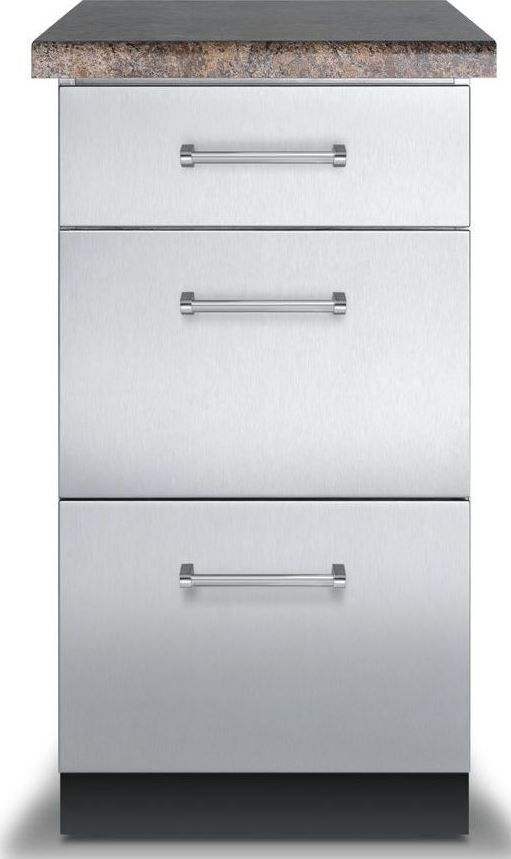 Viking® Base Cabinet-Stainless Steel-VBO1830SS