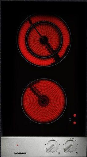 """Gaggenau Vario 200 Series 12"""" Electric Cooktop-Black-VE230614"""