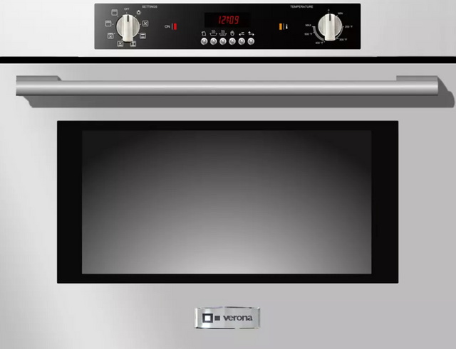 """Verona® 30"""" Electric Built In Single Wall Oven-Stainless Steel-VEBIEM301SS"""
